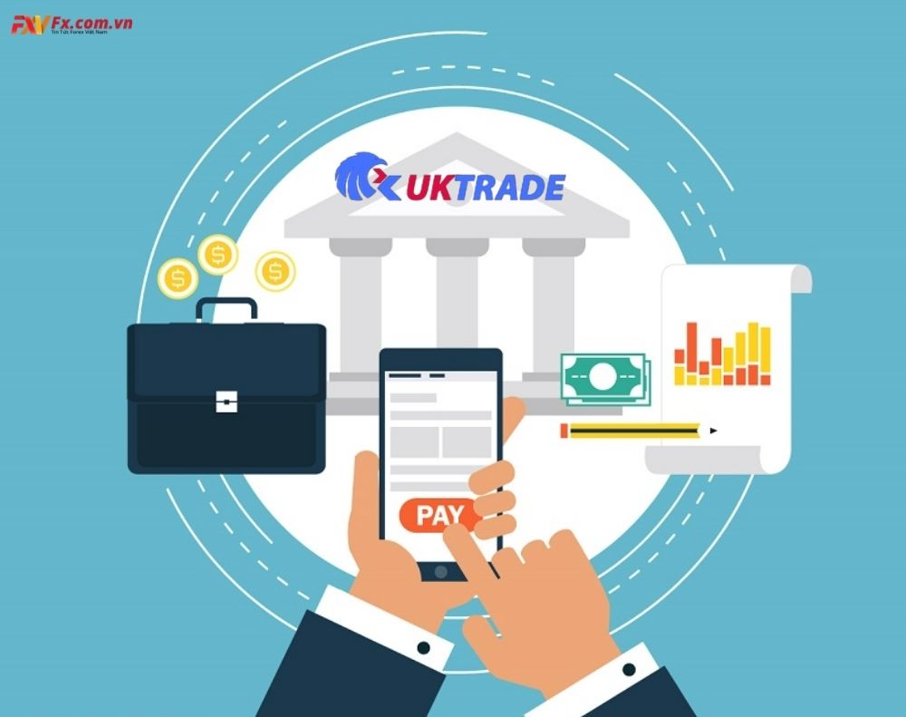 Phương thức gửi tiền và rút tiền trên UKTrade