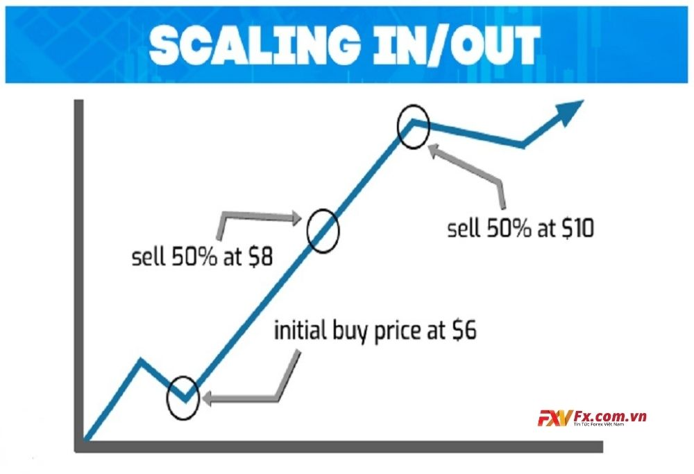 Scale out và Scale in trong Forex