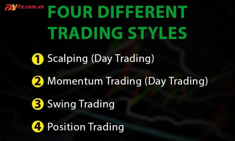 4 phong cách trade phổ biến