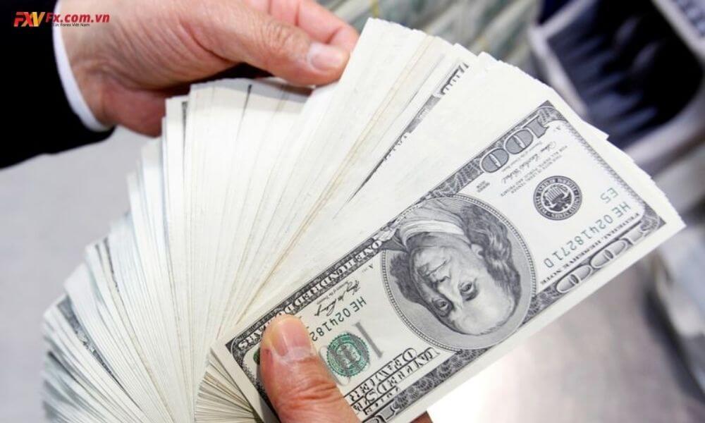 Dollar cố gắng kéo dài đợt tăng hôm nay