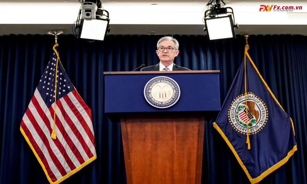 Chủ tịch Jerome Powell quyết định thu hẹp việc mua trái phiếu