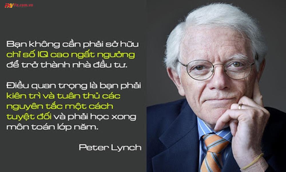 Tác giả cuốn Trên đỉnh phố Wall - Ông Peter Lynch