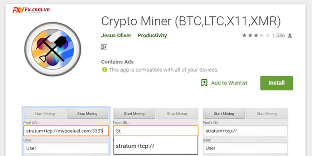 Crypto Miner - Ứng dụng đào coin hàng đầu hiện nay