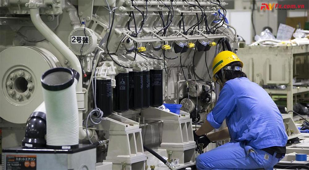 Hoạt động sản xuất của Nhật Bản