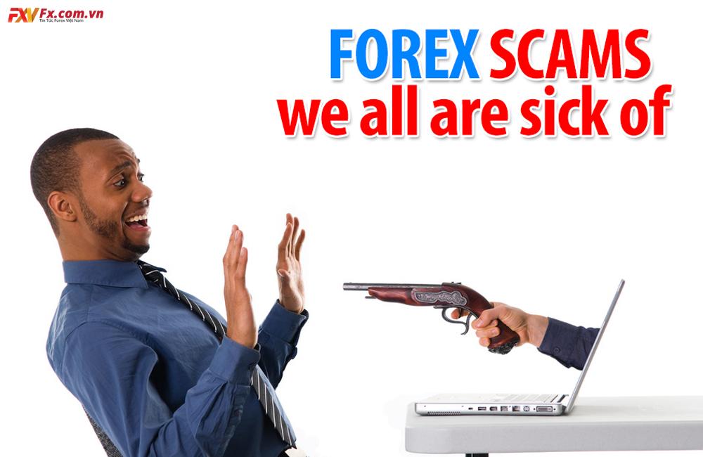 Những chiêu trò lừa đảo phổ biến nhất trong Forex